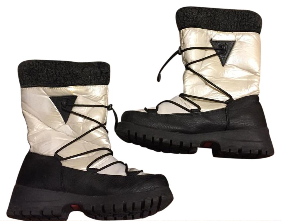 women Khombu Black/White Boots/Booties Primary Primary Boots/Booties quality dfa96c