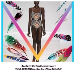 Other TRIBAL PRINT/Multi Color/One-Piece SwimSuit