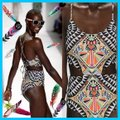 Other TRIBAL PRINT/Multi Color/One-Piece SwimSuit Image 1
