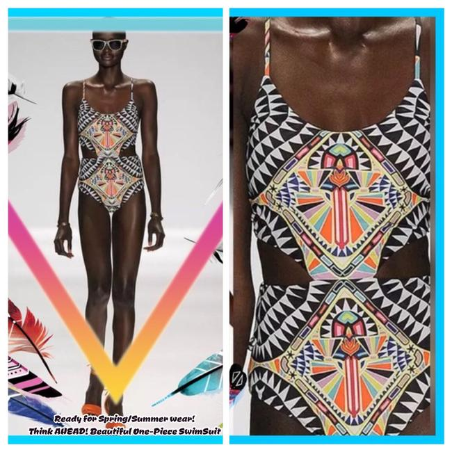 Other TRIBAL PRINT/Multi Color/One-Piece SwimSuit Image 3