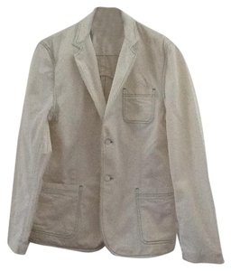 Marc by Marc Jacobs Green Spring Men White Blazer