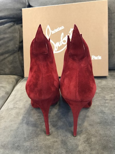 Christian Louboutin Heels Victorina Flame Red Pumps Image 7