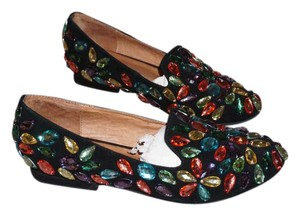 Jeffrey Campbell Gem Black Flats