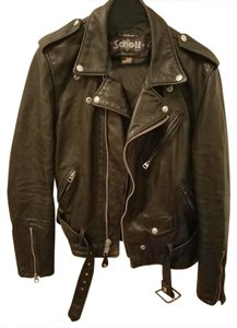 Schott NYC Leather Vintage Motorcycle Jacket