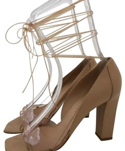 Stella McCartney nude Platforms