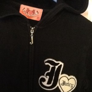Juicy Couture Juicy Couture Black Zipup