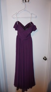 Bari Jay Plum Bari Jay Plum Bridesmaids Dress Dress