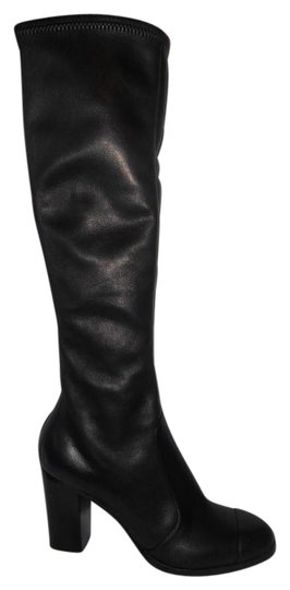 Preload https://img-static.tradesy.com/item/20710315/chanel-black-12a-stretch-leather-knee-high-tall-zip-cc-logo-bootsbooties-size-us-115-0-1-540-540.jpg