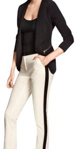 H&M Trouser Pants Natural White