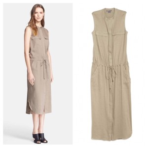 taupe Maxi Dress by Vince
