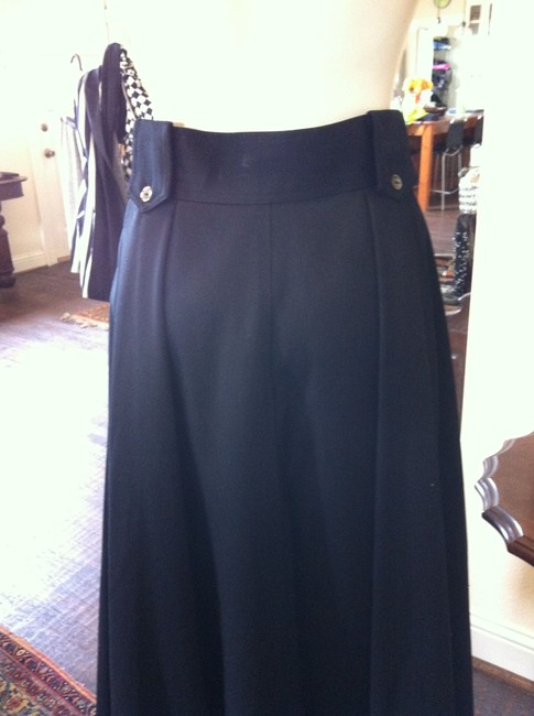 Barry Bricken Maxi Skirt Black