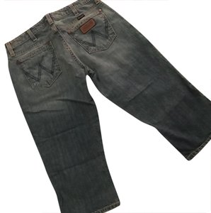 Wrangler 47 Capri/Cropped Denim-Distressed
