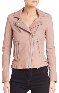 IRO Leather Motorcycle New Blush Leather Jacket