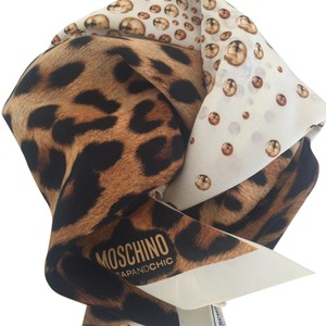 Moschino NEW Moschino Cheap And Chic animal leopard print
