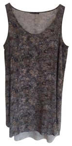 Eileen Fisher Top Icelandic Print