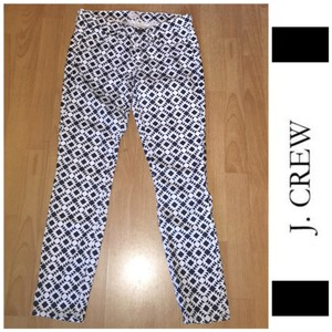 J.Crew Skinny Pants dark blue, white