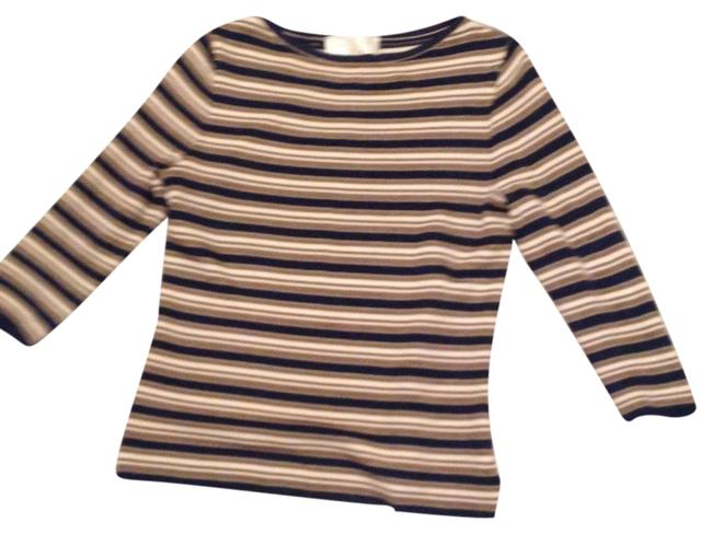 Preload https://img-static.tradesy.com/item/20710620/st-john-none-blue-and-gold-and-cream-sweater-0-1-650-650.jpg