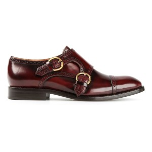 Marc Jacobs Burgundy Flats