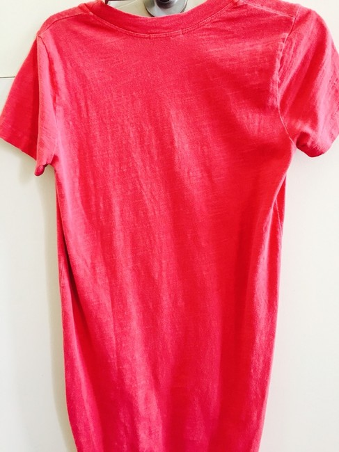 James Perse short dress Pinkish Red on Tradesy