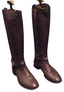Tory Burch Dark Brown Boots