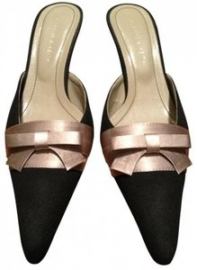 Charles & Keith Black and Bronze Sandals
