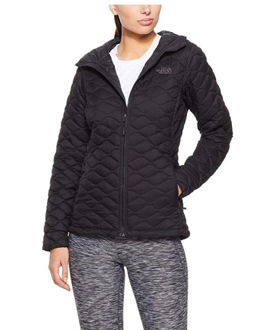 The North Face Black Thermoball Hoodie Coat Size 8 (M) The North Face Black Thermoball Hoodie Coat Size 8 (M) Image 1