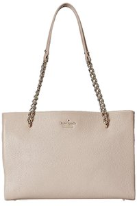 Kate Spade New York Emerson Place Small Phoebe Shimmer Leather Tote Shoulder Bag