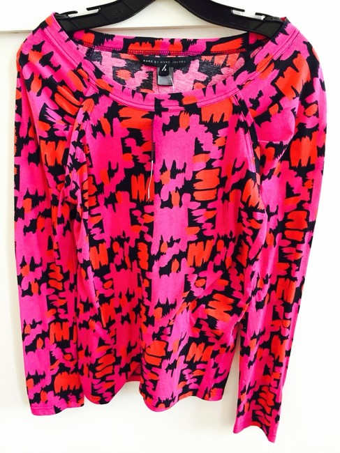 Marc by Marc Jacobs T Shirt Pink, Red, Black