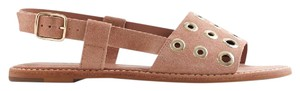 J.Crew Suede Slingback Haze Biege Leather Tan Sandals