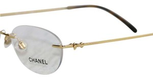 Chanel Titanium 2164-T 125 Eyeglasses New-Tags-Case-Cloth CHANEL Gold Bow