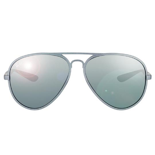 ee6eb0f3c40 Ray-Ban Matte Grey New (Rb 4180) Aviator Liteforce Made In Italy ...