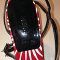 Fendi red black & white Sandals Image 1