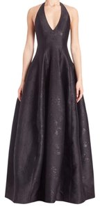 Halston Heritage Gown Formal Formal Jacquard Gown Dress