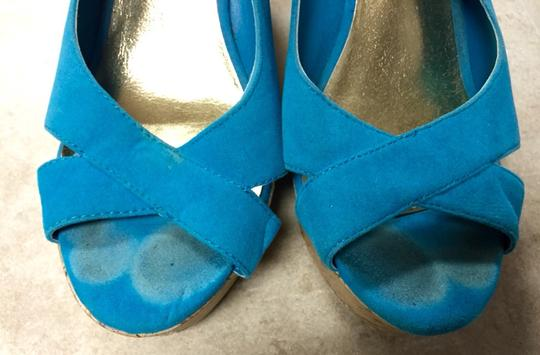 Mossimo Supply Co. Blue Wedges