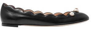 Gucci Gg Ballet Leather black Flats