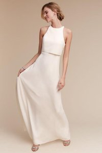 Jill Stuart Iva Crepe Gown Wedding Dress