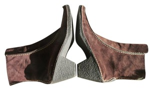 Pons Quintana Suede Chocolate Brown Boots