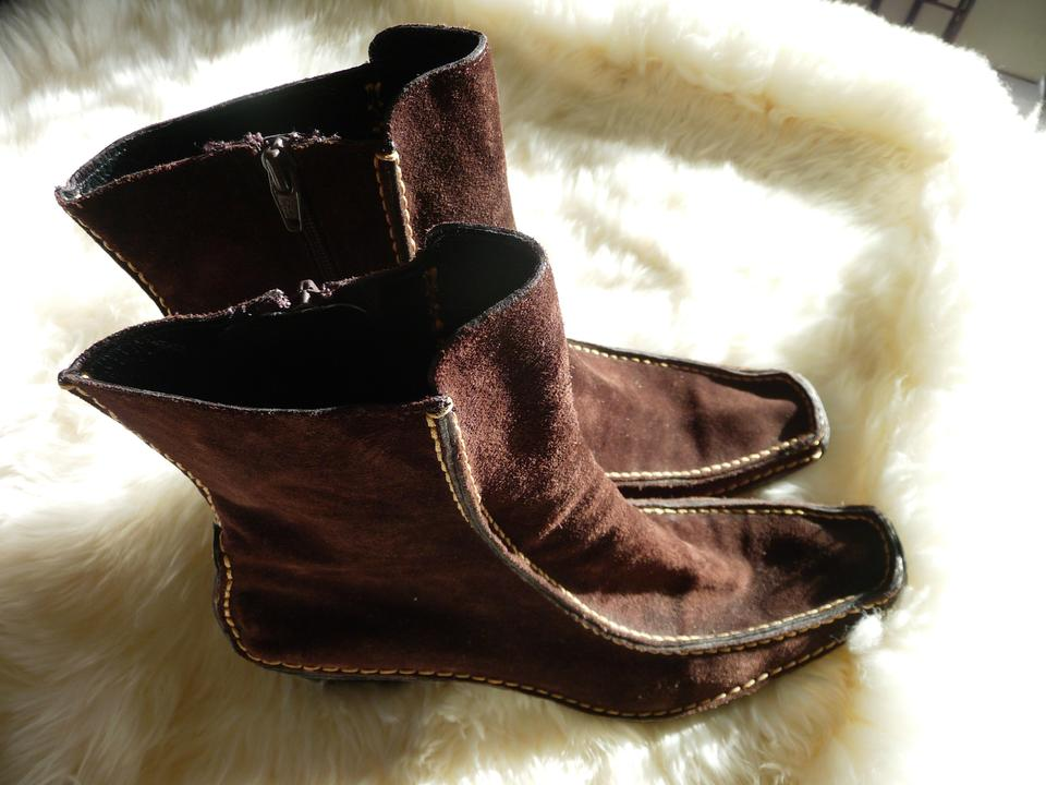 80c3b47ad5b6b Pons Quintana Chocolate Brown Ankle 9000 41 89592 Boots/Booties Size ...