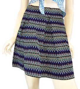 Xhilaration Mini Skirt blue