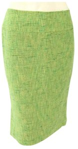 Dolce&Gabbana Dolce Tweed Pencil Sale Skirt Lime Green