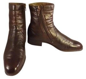 Bally Western Cowboy Leather brown Boots