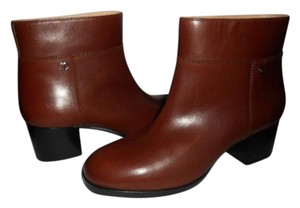 Chanel Ankle Brown Boots