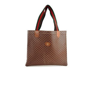 Gucci Gg Vintage Doctor Tote in Brown