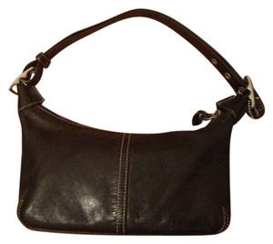 Coach Leather Small Adjustable Strap Every Day Mini Duffle Adjustable Hobo Bag