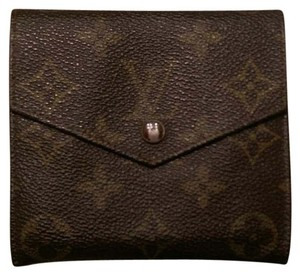 Louis Vuitton Louis Vuitton Monogram Leather Wallet