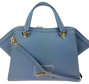 Zac Posen Satchel in Teal Blue