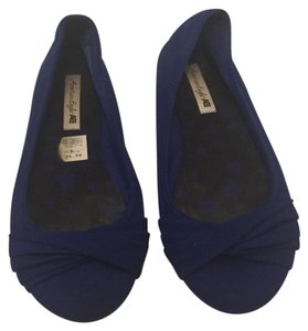 American Eagle Outfitters blue Flats