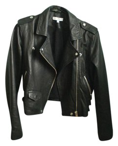 IRO Leather Moto Lambskin Chic Edgy Leather Jacket