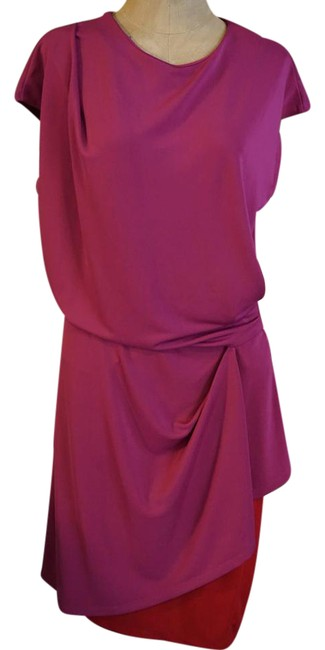 Preload https://img-static.tradesy.com/item/20712570/narciso-rodriguez-red-and-pink-teal-navy-color-block-stretch-jersey-238-mid-length-workoffice-dress-0-1-650-650.jpg