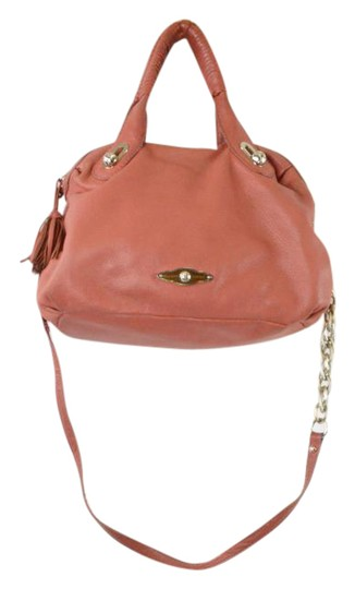 Preload https://img-static.tradesy.com/item/20712583/elliott-lucca-salmoncoral-leather-shoulder-bag-0-2-540-540.jpg